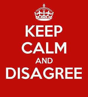 Keep_calm_and_disagree poster 300x331